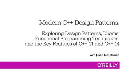 Modern C Design Patterns O Reilly Media