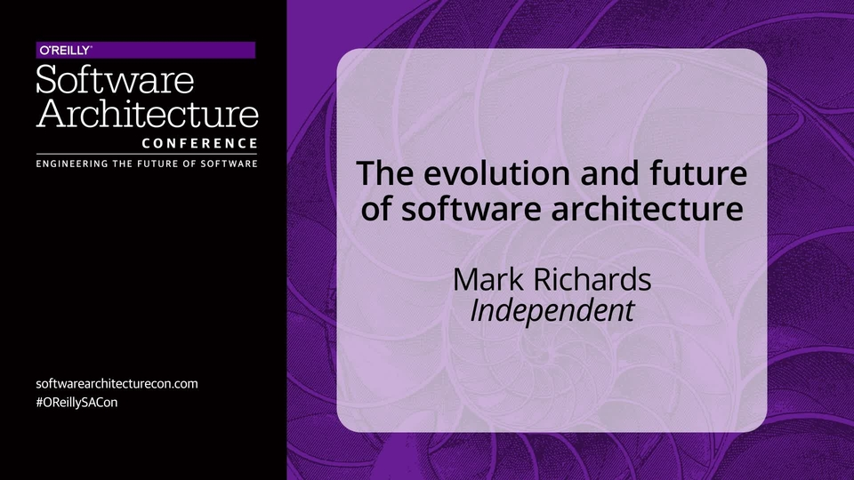 O'Reilly - Software Architecture Conference 2017 New York