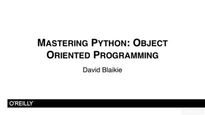 Python Beyond The Basics - Object Oriented Programming