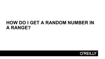 c# generate random number in range