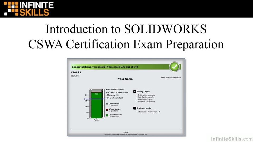 Certified SolidWorks Associate (CSWA) Exam Training - O\'Reilly Media