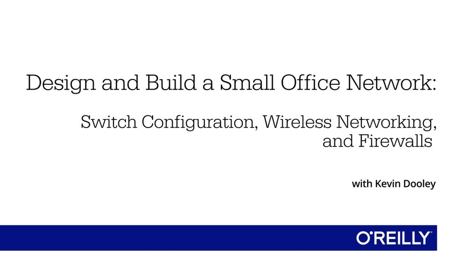 design and build a small office network