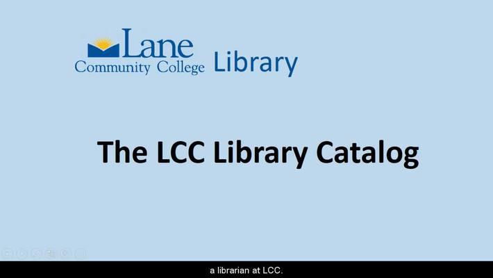 LCCLibraryCatalog