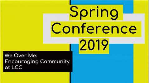 Thumbnail for entry Spring Inservice 2019: Who is Community - All Alumni Panel