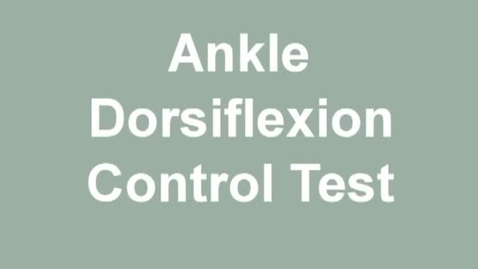 Thumbnail for entry ankle df control