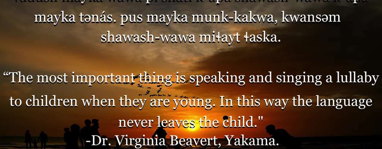 Chinuk Wawa Phrase of the Week 27