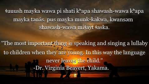 Chinuk Wawa Phrase of the Week 27