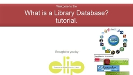 Thumbnail for entry Library Databases