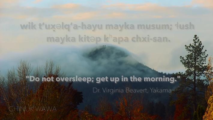 Chinuk Wawa Phrase of the Week #4