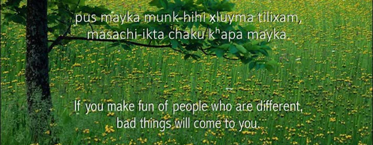Chinuk Wawa Phrase of the Week #12