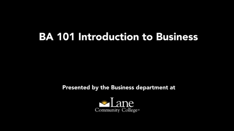 Thumbnail for entry BA101_Sole Proprietorship-Starting A Business With Your Passion-Juan
