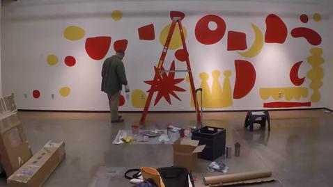 Thumbnail for entry Pete Goldlust Mural Timelapse