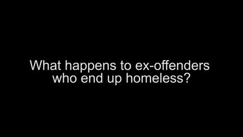 Thumbnail for entry CCPD Greg Evans-Homeless Ex-offenders