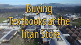 Thumbnail for entry Buying Textbooks at the Titan Store