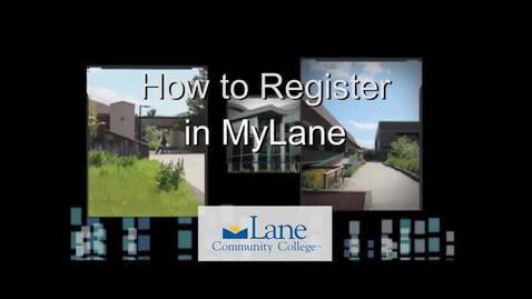 Thumbnail for entry How to Register in MyLane