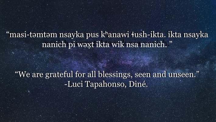 Chinuk Wawa Phrase of the Week 29