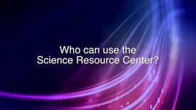 Thumbnail for entry Science Resource Center