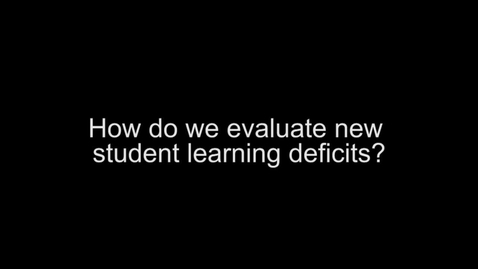 Thumbnail for entry CCPD Greg Evans-Evaluating deficits Mary Mori 1