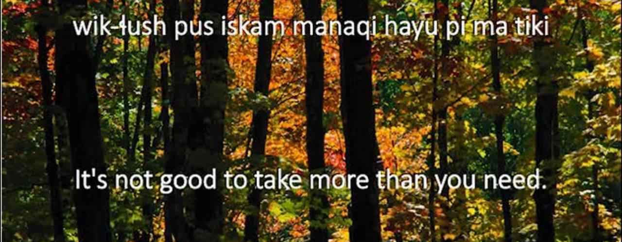 Chinuk Wawa Phrase of the Week 18