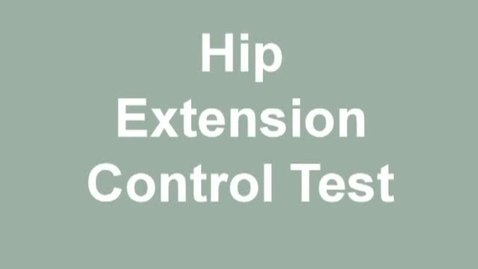Thumbnail for entry hip extension control