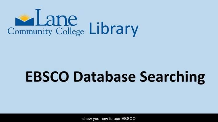 LCCLibraryEBSCOdatabases