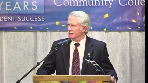 Thumbnail for entry 50th Anniversary - Governor John Kitzhaber