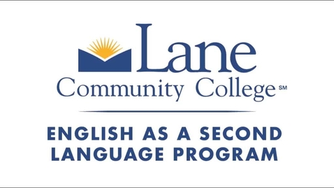 Thumbnail for entry English as Second Language Orientation
