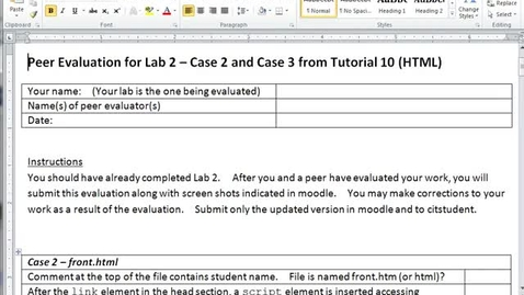 Thumbnail for entry Evaluating Lab 2