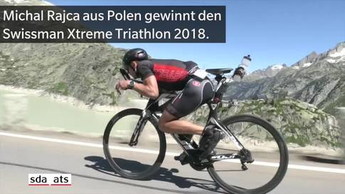 Neuer Streckenrekord am Swissman Xtreme Triathlon