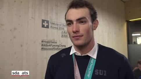"""Daniel Yule: """"Es macht das olympische Erlebnis schöner."""""""