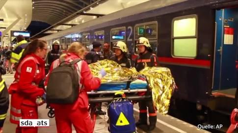 Mehr als 50 Verletzte bei Rangierunfall am Salzburger Hauptbahnhof