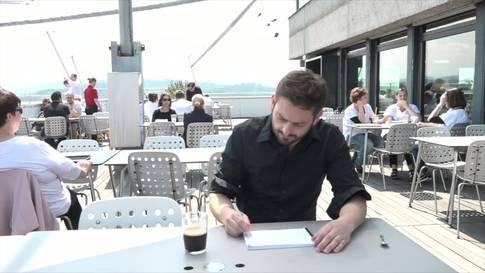 Schriftsteller Giuliano Musio, der Inselkapitän