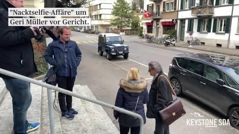 """Nacktselfie-Affäre"" um Geri Müller vor Gericht"