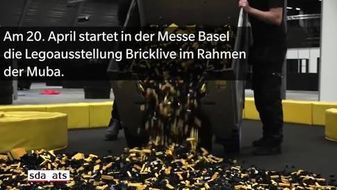 Lego-Schlaraffenland in der Messe Basel