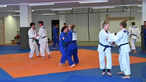 Eindrücke vom Training des Regionalen Leistungszentrums RLZ Judo des Kantons Bern im Grenchner Dojo