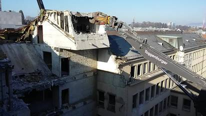 Baustelle Versicherung