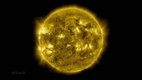 10 Jahre in einer Minute: Spektakulärer Zeitraffer der Sonne