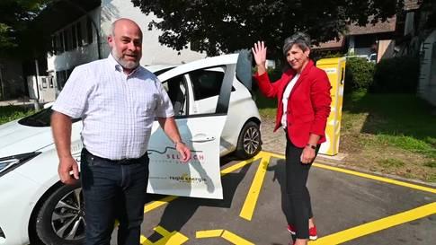Selzach stellt den Einwohnern ein Elektroauto für Carsharing zur Verfügung