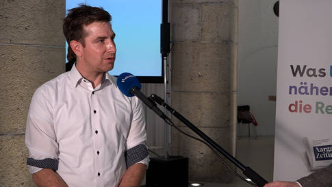 """Dieter Egli (SP) gewinnt Regierungsratswahlen Aargau 2020 vor Christiane Guyer (Grüne) - Grünenpräsident Daniel Hölzle: """"Ich bin überrascht"""""""