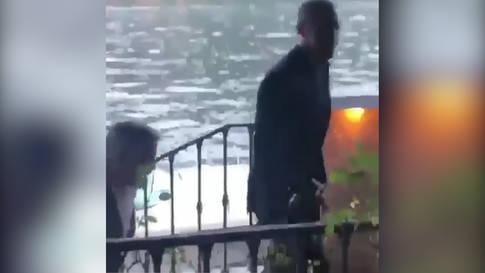 Clooney und Obama in Como gesichtet