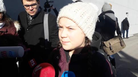 Greta Thunberg trifft am WEF in Davos ein: «Ich werde den Mächtigen sagen, dass sie versagt haben.»