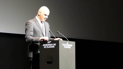 Die ganze Rede von Bundesrat Alain Berset zur Eröffnung der 55. Solothurner Filmtage