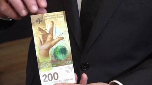 Die neue 200er Note widmet sich der Schweizer Wissenschaft
