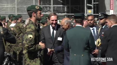 Indischer Präsident auf Besuch in der Schweiz