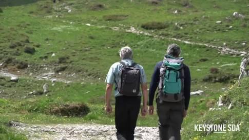Die Menschen haben das Wandern entdeckt
