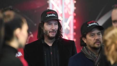 Keanu Reeves in Zürich