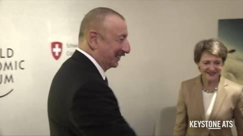 WEF: Sommaruga trifft Präsidenten Aserbaidschans