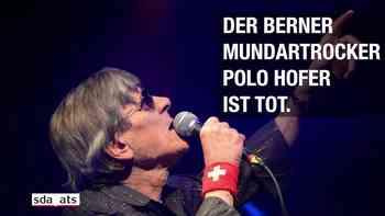 Die Schweiz nimmt Abschied von Polo Hofer