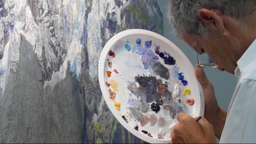 Künstler Maler Az einst war er bundesanwalt heute ist er maler und erschafft