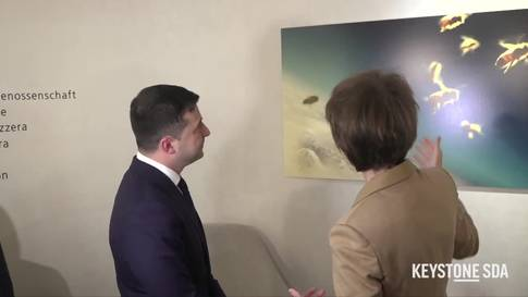 WEF: Sommaruga trifft ukrainischen Präsidenten Selenskyj